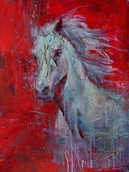 A Child of Sixteen Winters by Henry Asencio -  sized 32x24 inches. Available from Whitewall Galleries